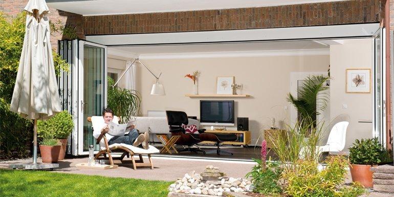 knabe fenster- und türentechnik - aktuelles - durchbruch zu mehr ... - Wohnzimmer Grose Fensterfront