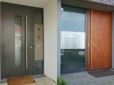Haustüren aus Holz / Aluminium