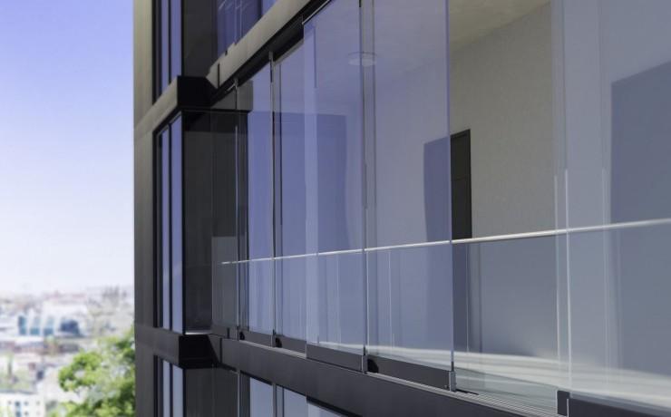 Balkonverglasung SL 23