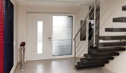 Haustüren aus Aluminium