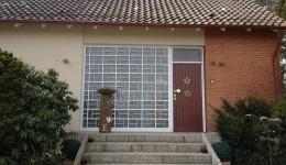 Haustüren aus Aluminium Vorher