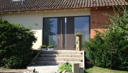 Haustüren aus Aluminium Nachher