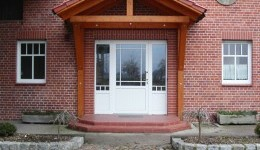 Haustüren aus Kunststoff