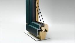 Holz- Aluminium- Fenster